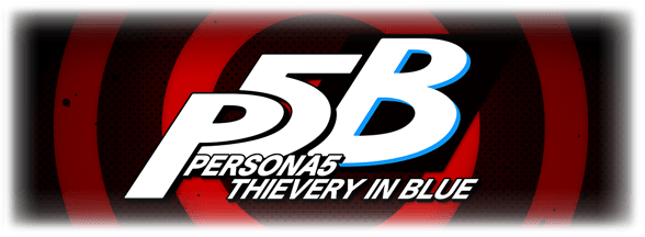 Persona5 Thievery in Blue